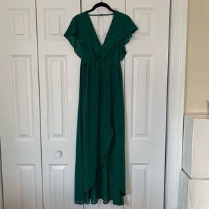Emerald/Forest Green Dress